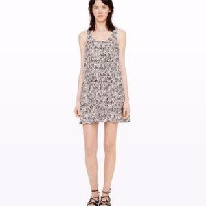 Club monaco mini dress 100 silk Size 4